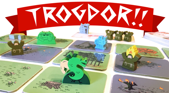 Protect your thatched roof cottages: Trogdor the Boardgame on Kickstarter
