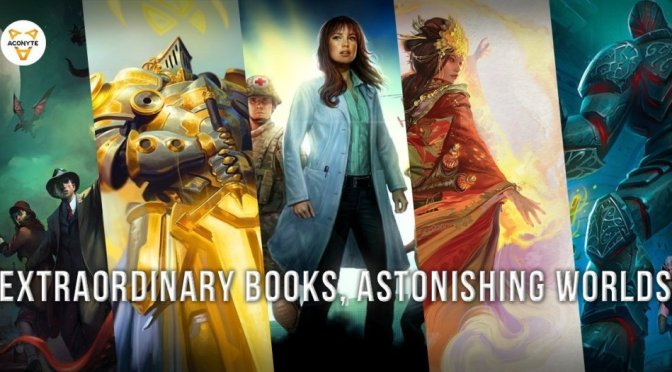 Aconyte to Publish a Unique Line of Marvel Novels in 2020