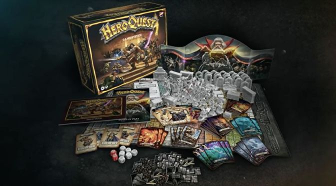 Fire of Wrath: The HeroQuest boardgame Relaunches!